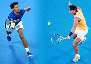 Nadal y Djokovic: un clásico en la cabeza