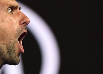 Djokovic arrodilla a Nadal