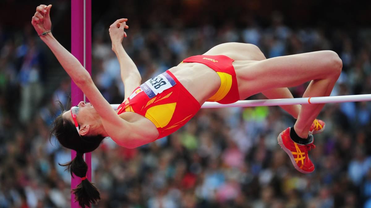 Ruth Beitia gana otra medalla olímpica después de retirarse