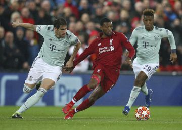 Liverpool y Bayern empatan a cero y resolverán la eliminatoria en el Allianz