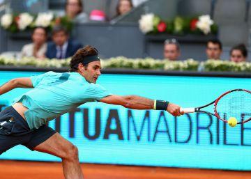 Cuatro años después, Federer volverá a Madrid