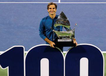 Federer, 100 veces Federer