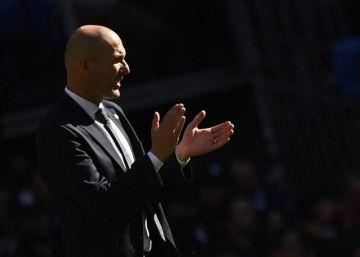 Zidane entra en el incendio