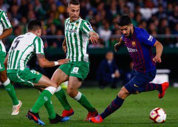 Luis Suárez estará dos semanas de baja por un esguince de tobillo
