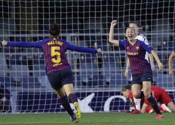 Duggan acerca al Barcelona femenino a las semifinales de la Champions