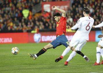 España derrota con suspense a Noruega