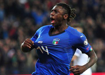 Italia se rinde a la precocidad de Kean