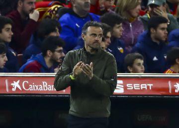 Luis Enrique no estará esta noche en el Malta-España por motivos personales