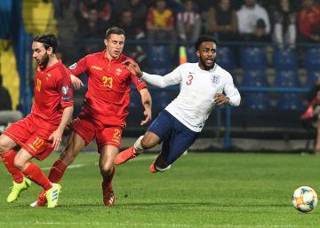 La UEFA abre expediente a Montenegro por actos racistas