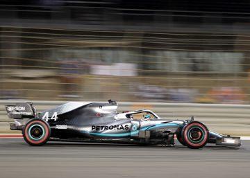 Victoria de Hamilton y doblete de Mercedes