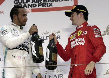 Apagón de Ferrari, llanto de Leclerc