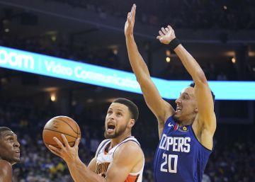 Los Warriors sellan el primer puesto en el Oeste y Brooklyn y Orlando una plaza en los 'playoffs'