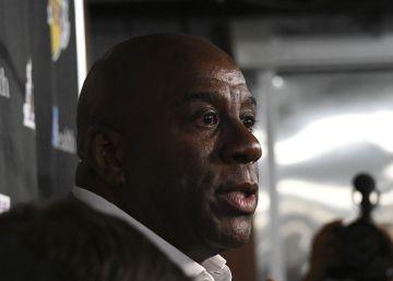 Magic Johnson dimite como presidente de Los Angeles Lakers tras una temporada desastrosa