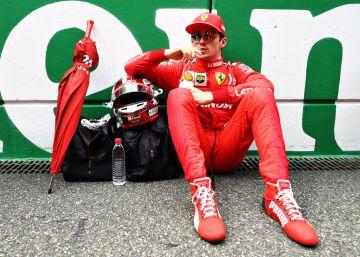 Ferrari se la lía a Leclerc en el GP de China