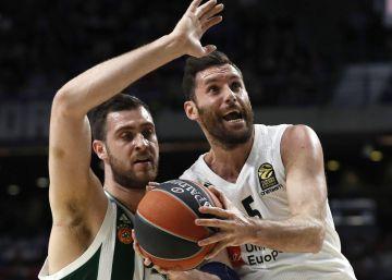 El Madrid gana el primer asalto ante el Panathinaikos entre suspiros