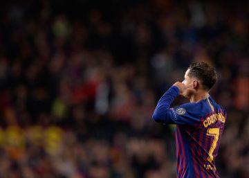 La rabieta de Coutinho sorprende al Barça