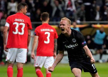 El Eintracht acaba con el Benfica y Chelsea y Arsenal cumplen
