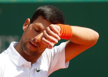 Patina Djokovic, se relame Nadal