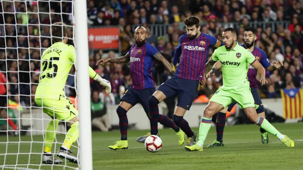 El Barcelona Gana La Liga Con Un Tanto De Messi Deportes