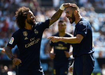 El Real Madrid empieza LaLiga derrotando al Celta (1-3)