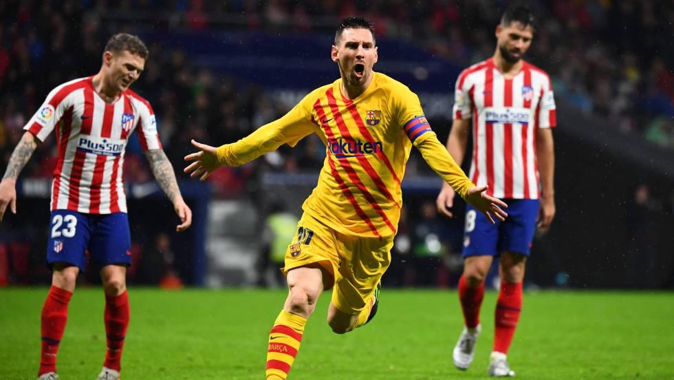 Atlético de Madrid - Barcelona: Messi es oro puro | Deportes | EL PAÍS
