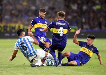 La sangría de jugadores deja sin goles al fútbol argentino