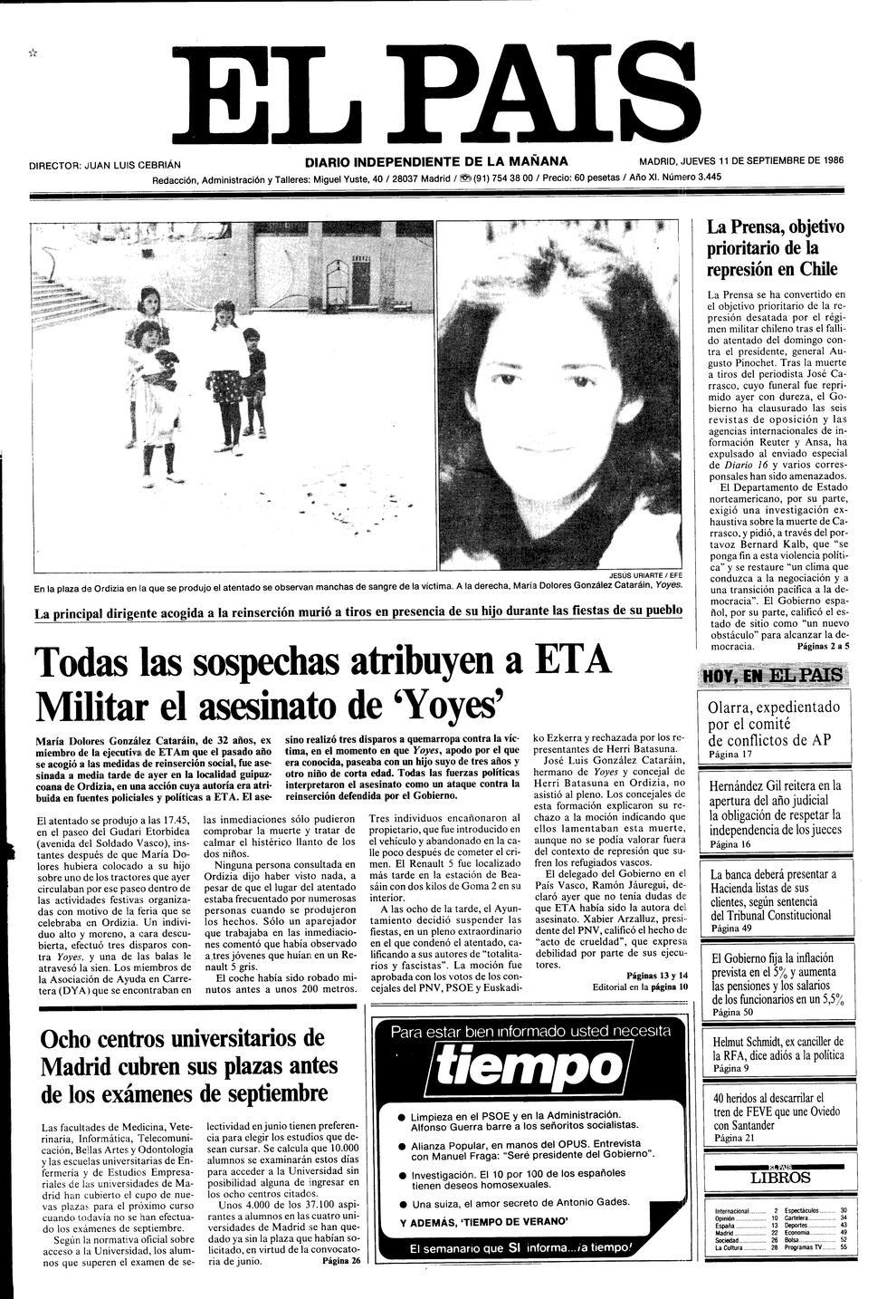 Resultado de imagen de Dolores González Catarain