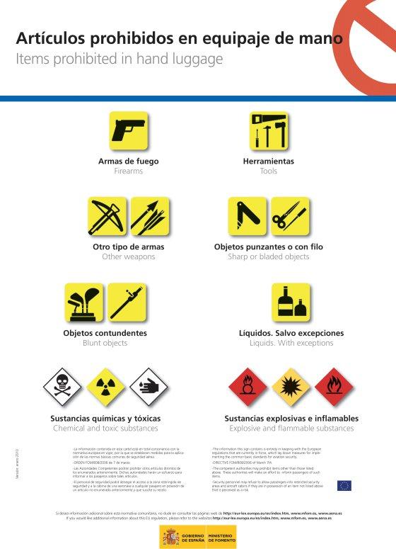 b6d37ce5e Los aeropuertos inspeccionarán los aparatos eléctricos en el equipaje |  Economía | EL PAÍS
