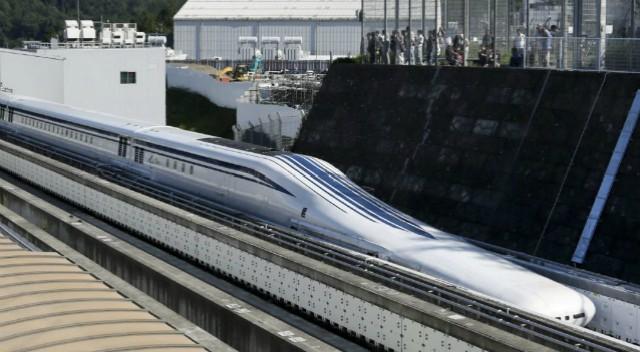 Resultado de imagen para tren japonés maglev