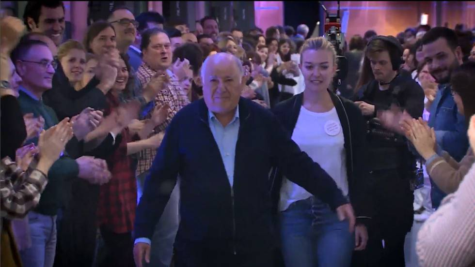 Vídeo: Amancio Ortega recibió en su 80 cumpleaños una fiesta ...