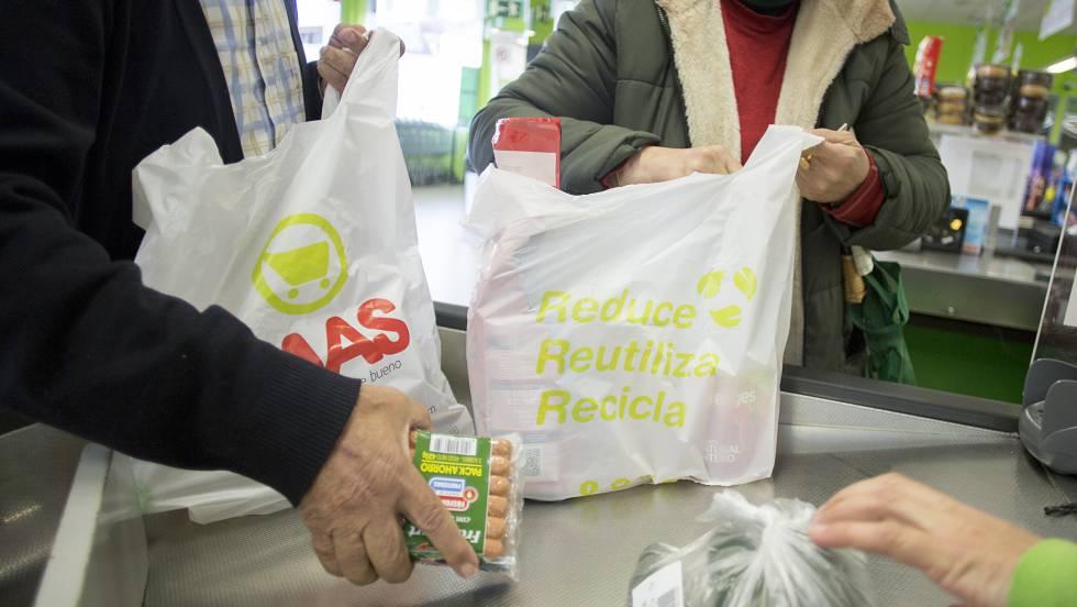 Resultado de imagen para mercados a domicilios con bolsas reciclables imagenes