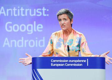 La multa europea a Google por Android asciende a 4.343 millones euros