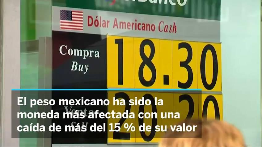El Peso Mexicano Sufre La Peor Caída Del Planeta Por Efecto Trump