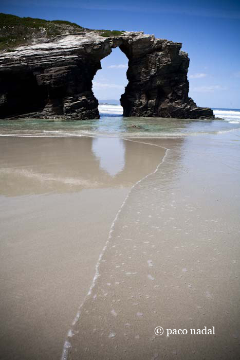 playa de las catedrales maps