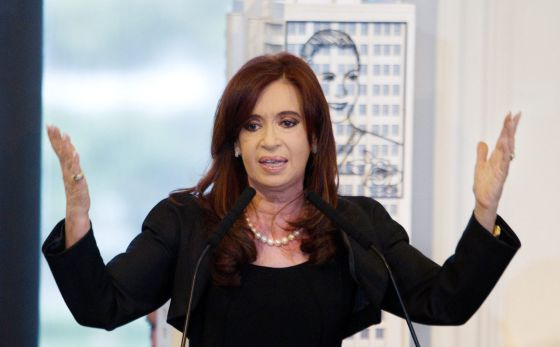 Fernández de Kirchner announcing Monday the expropriation of YPF.
