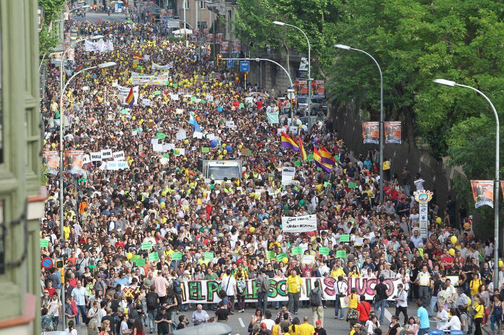 El aniversario del 15-M, en fotos | Fotogalería | Actualidad | EL PAÍS
