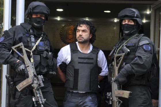 Colombia's biggest drug lord captured in Argentina where he