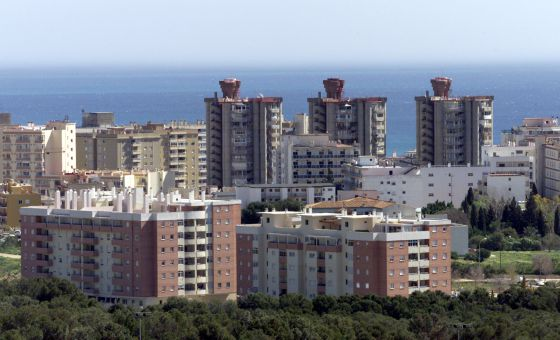 Torremolinos on the Costa de Sol, a popular holiday destination for Moroccans.