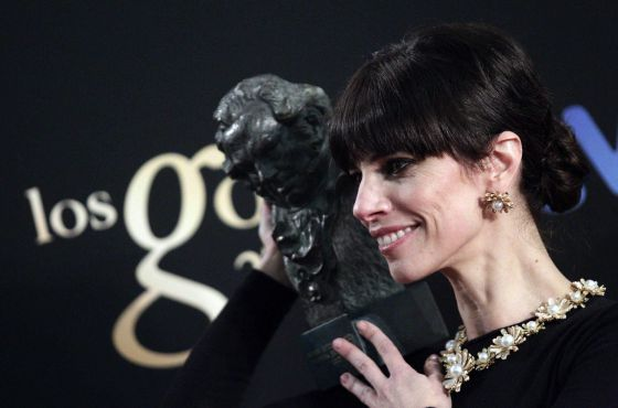 Maribel Verdú won the Best Actress Goya for her role as the wicked stepmother in 'Blancanieves.'