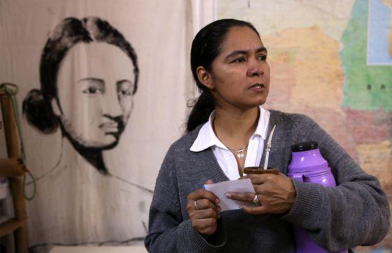 Resultado de imagen para Perla Álvarez, de la Coordinadora Nacional de Mujeres Rurales e Indígenas