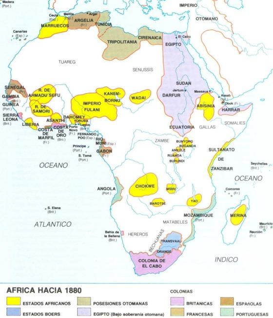El reparto de Africa, sin africanos | Blog Africa no es un pais | EL ...
