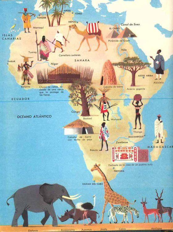 Mapas para conocer frica de otra manera I  Blog Africa no es