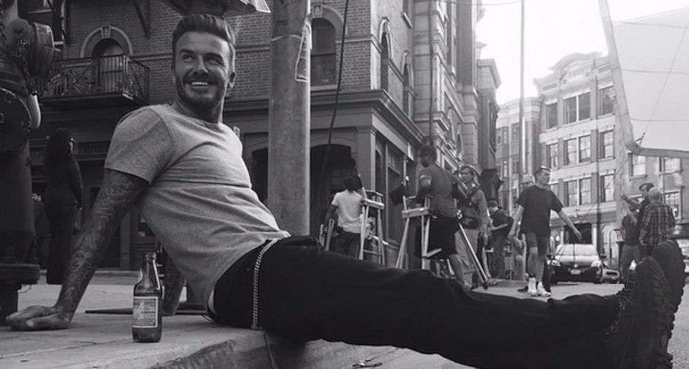 8 cosas que un hombre debe aprender del debú de Beckham en Instagram