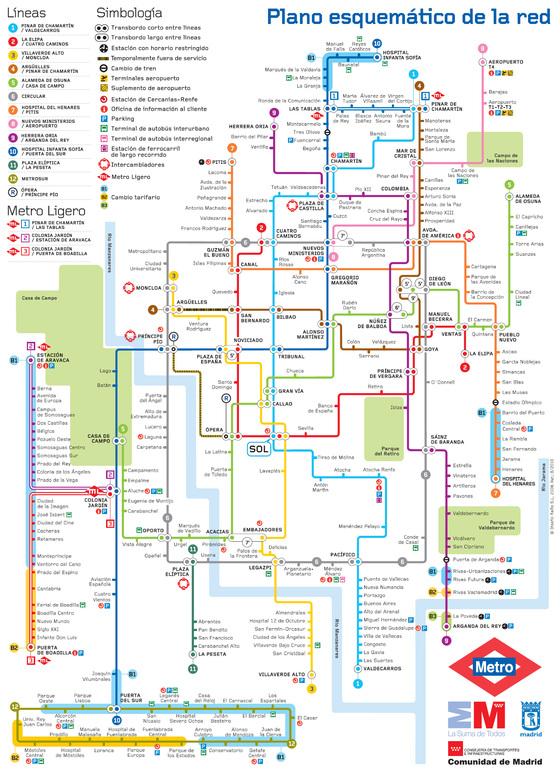 Planos del metro obras de arte o galimatas  Blog Viajero