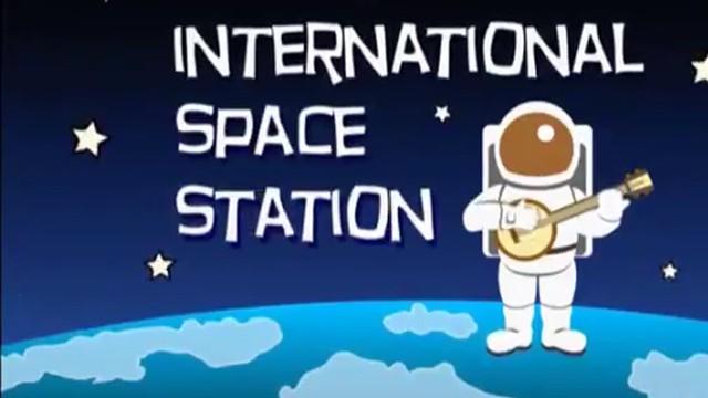 Video Dibujos Animados Para Explicar La Estacion Espacial