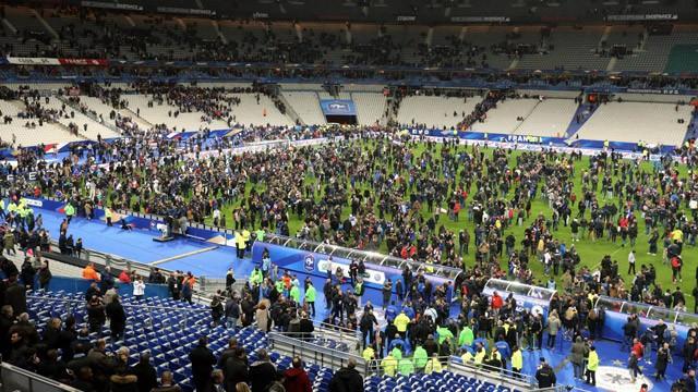 Image result for حمله تروریستی در بازی آلمان و فرانسه