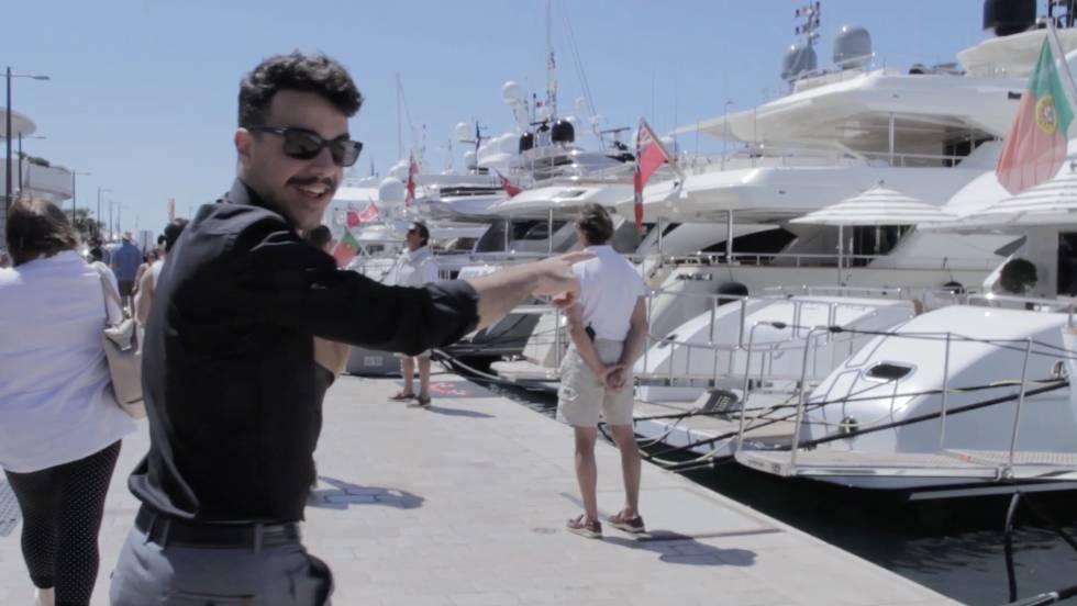 Vídeo  Así es una fiesta playera de Cannes  7023134252c24