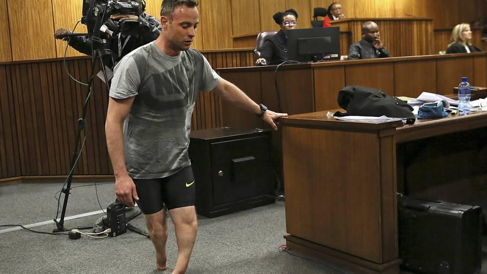 Pistorius se quita las prótesis y muestra su vulnerabilidad | Estilo | EL  PAÍS