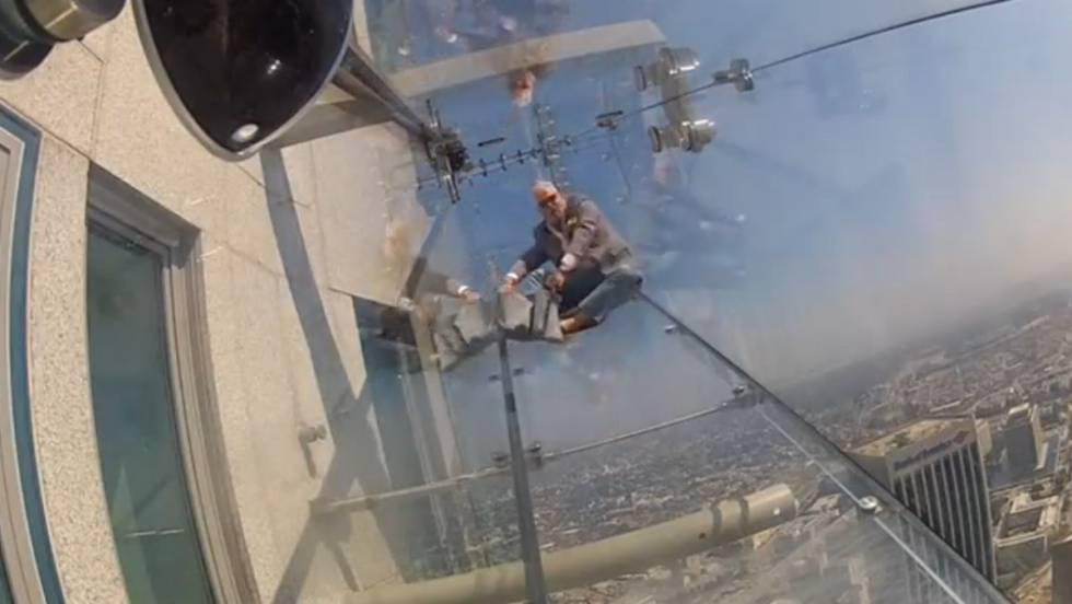 Vídeo  Un tobogán en las alturas de Los Ángeles  7c52d83e9b0d1