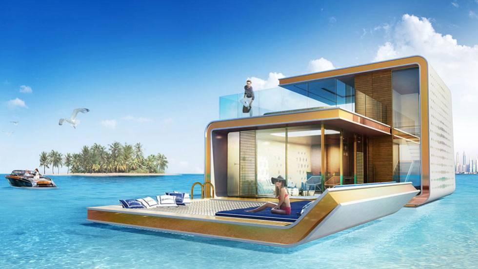 Vídeo: Se vende casa flotante con vistas al fondo del mar ...